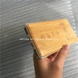 12000mAh alimentación cargador de batería del teléfono móvil Banco de potencia de bambú