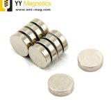 Редкоземельные N38 металлокерамические NdFeB магниты в форме диска