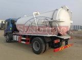 폐수 흡입 트럭 4X2 의 10m3 폐수 흡입 트럭