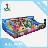 12x8m enfants château gonflable géant avec la diapositive