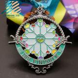 カスタム昇進のギフトの装飾の金属のマラソンの連続したスポーツメダル