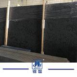 Lastre naturali del marmo del diamante nero di vendite calde per la decorazione interna