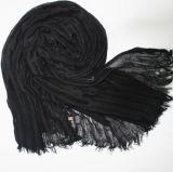 明白な綿のリネンスカーフのイスラム教のHijabヘッド覆いの品質のスカーフは覆いを卸し売りする