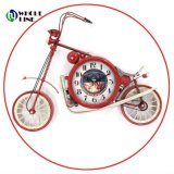 Craft Art Metal moto chic industriel de la forme d'horloge à quartz