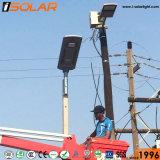 Soncapは統合した1つの李イオン電池の太陽動力を与えられた街灯のすべてを証明した