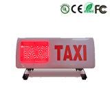 Taxi Taxi haut de l'éclairage du feu sur toit