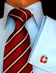 Nouveau design des hommes cravate en soie tissée à la mode