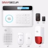 S4 sistema di allarme di obbligazione della tastiera dell'affissione a cristalli liquidi GSM/PSTN con i sensori di movimento di Door/PIR