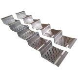 Écran en aluminium de profil perforé et façade en aluminium perforée de feuille