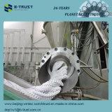 Calandragem do PVC de 5 rolos/linha do calendário com extrusora planetária
