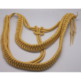 금속 꼭지를 가진 나일론의 군 착색된 어깨 Aiguilettes