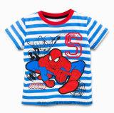Le garçon 100% court de chemise de coton de T-shirt badine le T-shirt d'enfant