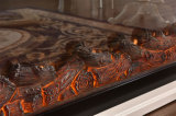 Einfacher Europäer LED beleuchtet Kamin-Hotel-Möbel der Flamme-3D elektrische (326S)