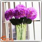 Seda Flores artificiais Hortência para decoração de casamento