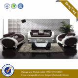Canapé d'office de salon en cuir de bureau moderne (HX-SN043)