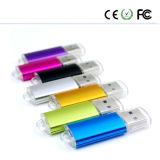 Entraînement coloré de crayon lecteur de flash USB de carte mémoire Memory Stick de logo libre en métal