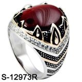 Argento d'imitazione all'ingrosso 925 dell'anello dei monili della fabbrica