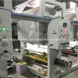 Machine d'impression de gravure de couleur de la vitesse moyenne 8 (type de Shaftless) 90m/Min