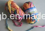 Tt Weave main tricoter Fancy Rainbow Thin-Thick fil acrylique teint Simi (T104)
