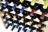 Het Overzicht van de fabriek past het Stevige Houten Stapelbare Rek van de Wijn voor het Tonen aan