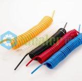 """Tubo de ar pneumático Tubo de bobina eletrica de sete núcleos (PU1 / 4 """")"""