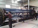 Machine Metallzing van de Plaat van het Roestvrij staal van de Kleur van Cicel de de Vacuüm/Apparatuur van de Deklaag van het Nitride van het Titanium voor het Blad van het Roestvrij staal en de Zwarte Machine van de Deklaag Pipe/PVD