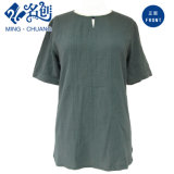 Newstyle Short-Sleeve Army-Green Fashion femmes chemisier vêtements desserrés