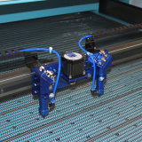 Trendy Automatische het Voeden Laser Scherpe Machine voor Borduurwerken (JM-1610t-ccd-bij)
