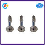 Плоская штанга Phillips кабеля Steel/4.8/8.8/10.9/Shrink/винты перекрестного дюйма головки лотка Self-Tapping