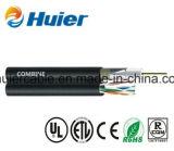 Câble RG6 de télévision en circuit fermé de qualité avec le câble LAN De Cat5e
