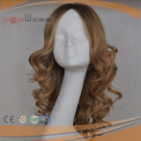 Perruque ondulée avec du charme de cheveu européen
