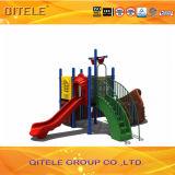 Preiswertes buntes Plastikkind-Spielplatz-Gerät