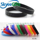 Silicone Product Popular Silicone Debossed and Embossed Wristband