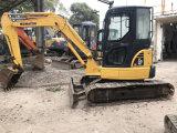 Mini excavador usado de KOMATSU PC55mr-2