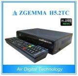 La ricevente combinata Zgemma H5.2tc Bcm73625 di nuova vendita 2017 si raddoppia OS Enigma2 DVB-S2+2xdvb-T2/C di Linux di memoria con Hevc/H. 265