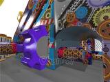 Roboter-aufblasbarer Hindernis-Kurs für Kinder Chob1123