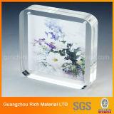 Radura/cornice acrilica di cristallo/blocco per grafici foto del perspex