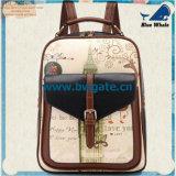 Bw1-072 Schooltas van het Leer van China de de In het groot Gebruikte en Rugzak van de Reis