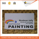 China Soem-kundenspezifisches Drucken überzogene PapierVisitenkarte-Namenskarte