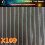 Проворные товары ткани нашивки пряжи полиэфира покрашенной для одежды (X105-110)