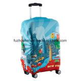 Couverture protectrice de bagage de Spandex élevé d'élasticité de type de mode