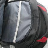까만 튼튼한 무거운 덧대진 휴대용 퍼스널 컴퓨터 책가방