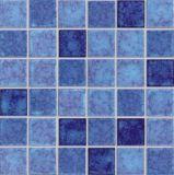 Azul Cerámica Piscina Mosaico (G354F)