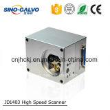 Explorador eficiente del Galvo del laser de la pieza Jd1403 de la máquina de grabado del laser del alto coste
