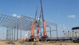 Светлое структурно здание пакгауза конструкции стальной рамки