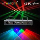 Directe de fabriek verkoopt Licht van Laser Vier het Hoofd Vier Rode & Groene RGBW