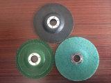 純カバー平らなエメリー布の車輪の折り返しディスク