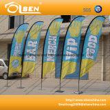 Bandierina di spiaggia promozionale esterna per fare pubblicità