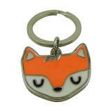 Anello chiave di Fox dello smalto del metallo