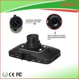 Высокое качество видеокамера автомобиля 2.7 дюймов в черном цвете